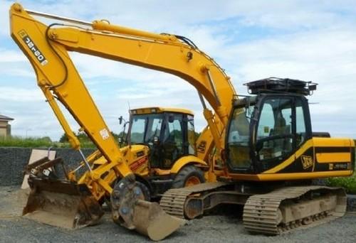 for JCB JS130 JS160 Tracked Excavator Service Repair Workshop Manual ...
