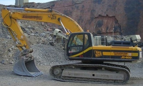JCB JS330 JS450 JS460 Tracked Excavator Service Repair Workshop Manual ...