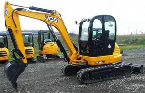 JCB 8055 8065 Midi Excavator Service Repair Workshop Manual DOWNLOAD