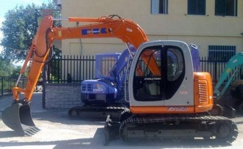 Fiat Kobelco E70SR Mini Crawler Excavator Service Repair Workshop Manual DOWNLOAD