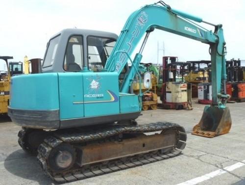 Kobelco SK60 V Crawler Excavator Service Repair Workshop Manual DOWNLOAD (LE-17701 )