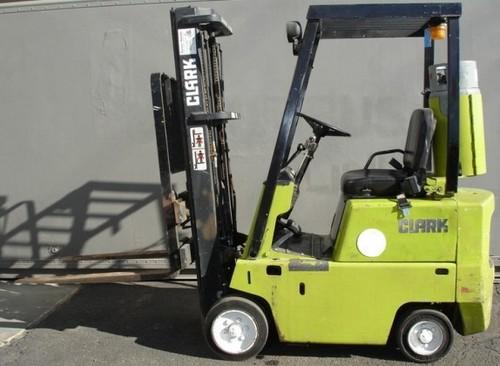 Pay for Clark C500 30-55 Forklift Service Repair Workshop Manual DOWNLOAD