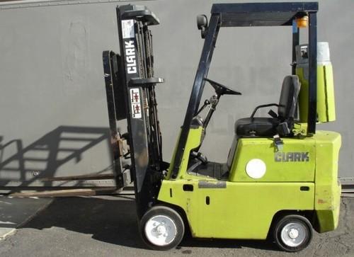 Free Clark EC 90, EC 120 Forklift Service Repair Workshop Manual DOWNLOAD Download thumbnail