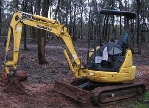 Komatsu PC20MRX-1 Hydraulic Excavator Service Repair Workshop Manual DOWNLOAD