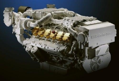MAN Marine Diesel Engine D2842 LE409, D2842 LE418 Series Service Repair Workshop Manual DOWNLOAD