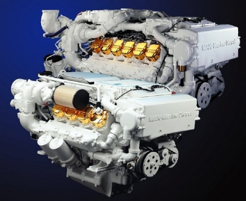MAN Marine Diesel Engine V8-900 V10-1100 V12-1360 V12-1550 V12-1224 Service Repair Workshop Manual DOWNLOAD