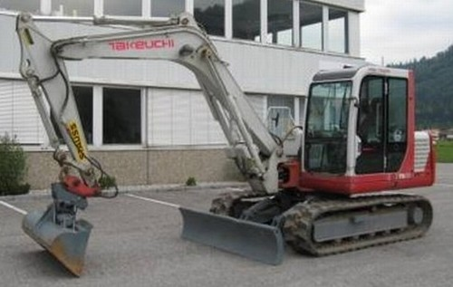 Takeuchi Tb070 Compact Excavator Parts Manual Download  Sn