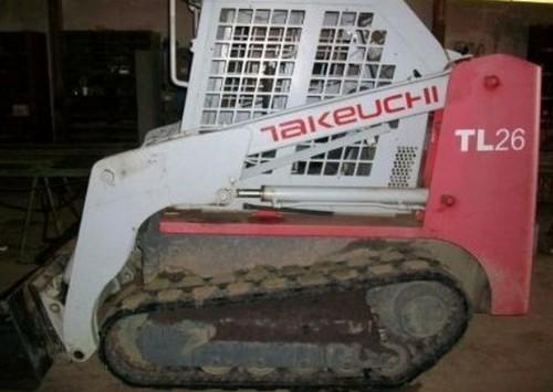 takeuchi tl26 crawler loader parts manual download sn 2620002 and rh tradebit com Takeuchi Skid Loader takeuchi tl 26 service manual