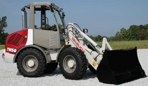 Pay for Takeuchi TW50 Wheel Loader Parts Manual DOWNLOAD (SN: E104063 and up)