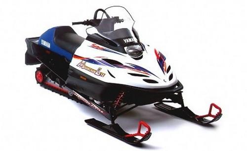 1999 2001 yamaha snowmobile pz500 phazer vt500xl venture for 500 yamaha snowmobile