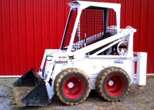 Bobcat M444 M500 M600 M610 Skid Steer Loader Service Repair Workshop Manual DOWNLOAD