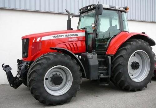for Massey Ferguson 6400 Series Tractor Service Repair Workshop Manual ...