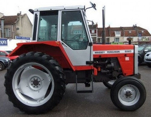 for Massey Ferguson MF698 MF690 MF675 Tractors Service Repair Workshop ...