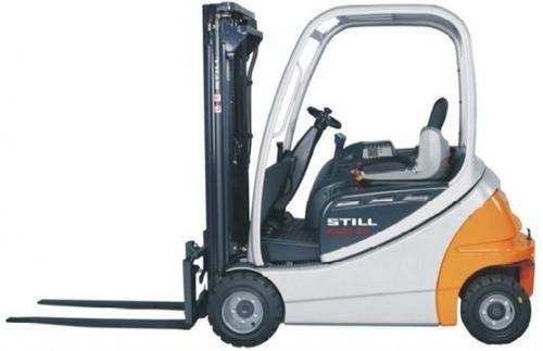 Still Electric Fork Truck Forklift RX20-15, RX20-16, RX20-18, RX20-20 ...