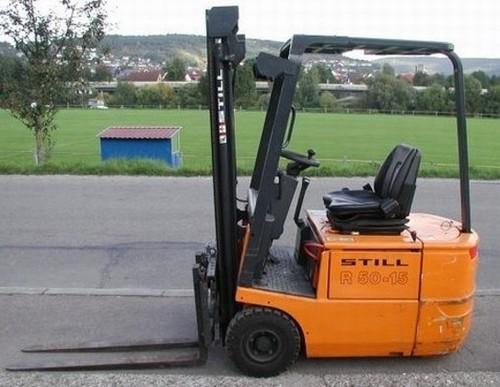 Still Electronic Fork Truck Forklift R50-10, R50-12, R50-15 Series Service Repair Workshop Manual DOWNLOAD