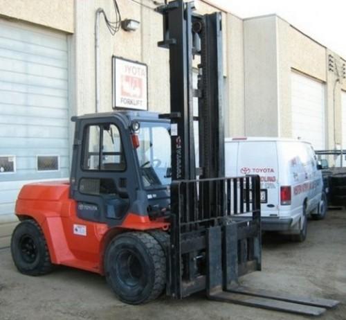 Toyota 7FGU35 7FDU35 7FGKU40 7FDKU40 7FGU45 7FDU45 7FGAU50 7FDAU50 7FGU60 7FDU60 7FGU70 7FDU70 7FGU80 7FDU80 Forklift Service Repair Workshop Manual DOWNLOAD