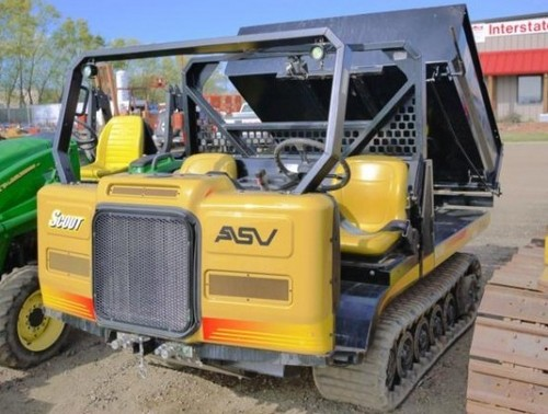 ASV SC-50 Scout Tracked Utility Vehicle Service Repair Workshop Manual DOWNLOAD