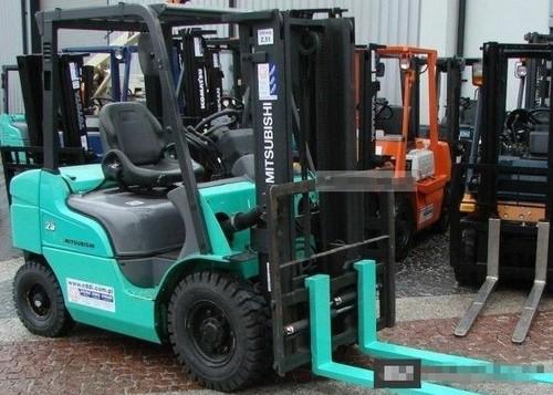 Mitsubishi FB16K FB18K FB20KC Forklift Trucks Service Repair Workshop ...