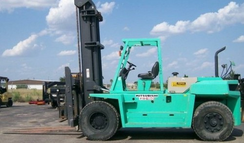 Mitsubishi FD100 FD115 FD135 FD150A Forklift Trucks Service Repair Workshop Manual DOWNLOAD