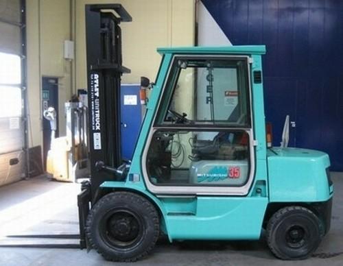 Mitsubishi FD15 FD18 FD20 FD25 FD30 FD35A Forklift Trucks Service Repair Workshop Manual DOWNLOAD
