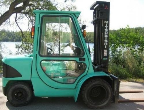 Mitsubishi FD20K MC, FD25K MC, FD30K MC, FD35K MC Forklift Trucks Service Repair Workshop Manual DOWNLOAD