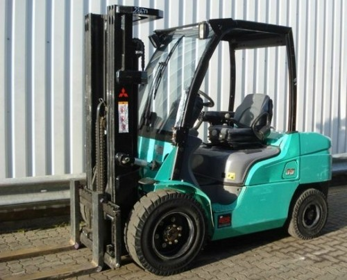 Mitsubishi FD20N FD25N FD30N FD35AN FD35N Forklift Trucks Service Repair Workshop Manual DOWNLOAD