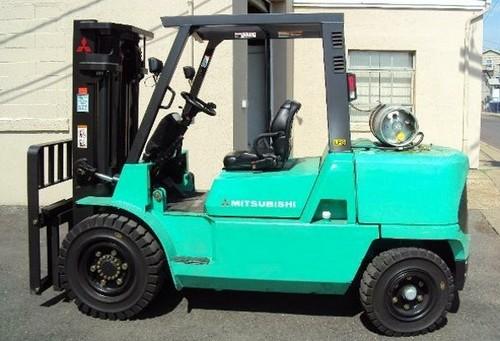 for Mitsubishi FG40K FG40KL FG45K FG50K Forklift Trucks Service Repair ...