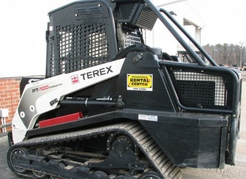 Terex Posi-Track PT-100 Forestry Track Loader Service Repair Workshop Manual DOWNLOAD