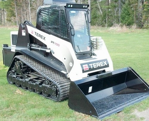 Terex Posi-Track PT-100 Track Loader Service Repair Workshop Manual ...