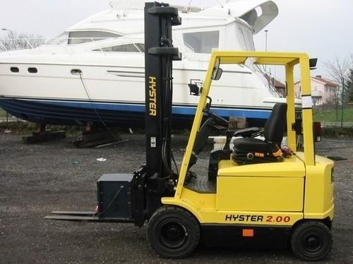 Hyster J160 (J1.60XMT-2.00XMT) Forklift Parts Manual DOWNLOAD