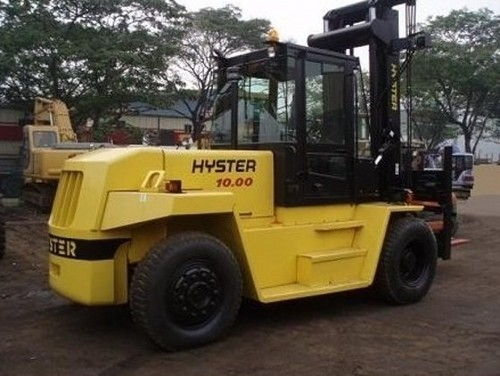 Hyster F007 (H8.00-12.00XM) Forklift Parts Manual DOWNLOAD