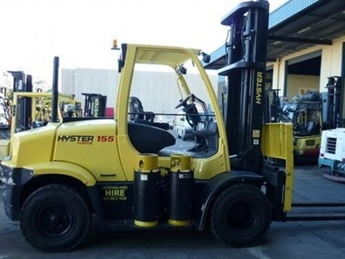 Hyster H006 (H135FT, H155FT) Forklift Service Repair Workshop Manual ...