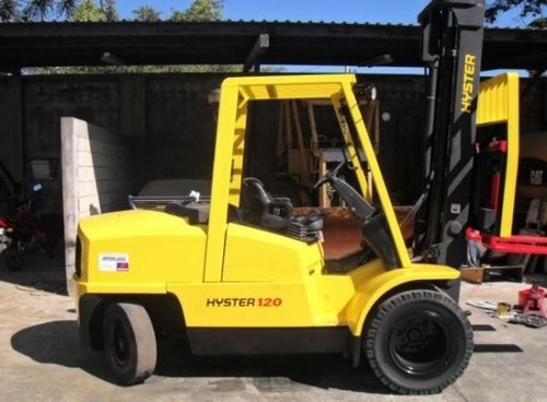 for Hyster L005 (H70XM-H120XM) Forklift Service Repair Workshop Manual ...