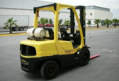 Hyster L177 H40FT H50FT H60FT H70FT Forklift Service Repair Workshop Manual DOWNLOAD