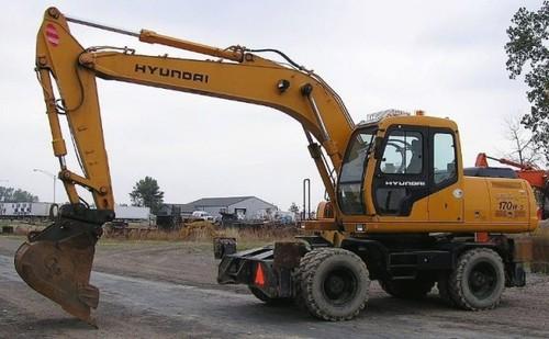Hyundai R170W-3 Wheel Excavator Service Repair Workshop Manual DOWNLOAD