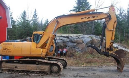 Hyundai R180LC-3 Crawler Excavator Service Repair Workshop Manual DOWNLOAD