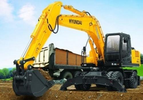 Hyundai R200W-3 Wheel Excavator Service Repair Workshop Manual DOWNLOAD