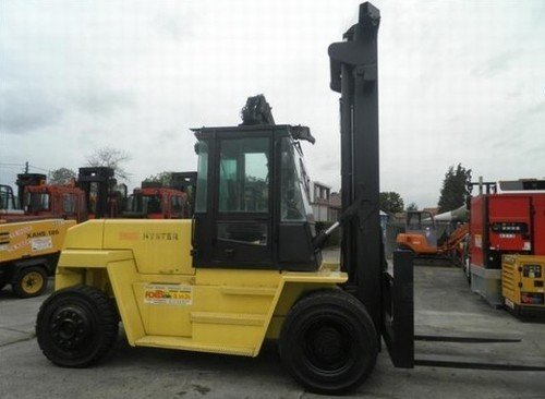 Hyster F007 (H8.00-12.00XM Europe) Forklift Service Repair Workshop ...
