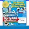 Thumbnail High Impact Squeeze Page PSD HTML Minisite Template 2