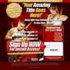 Thumbnail High Impact Squeeze Page PSD HTML Minisite Template 3