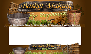 Thumbnail Basket Making PSD Minisite HTML Graphics Ready Made Web Template