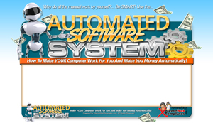 Thumbnail Automated Software PSD Minisite HTML Graphics Ready Made Web Template