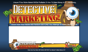 Thumbnail Detective Marketing PSD Minisite HTML Graphics Ready Made Web Template