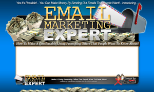 Thumbnail Email Marketing Expert PSD Minisite HTML Graphics Ready Made Web Template