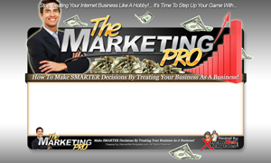 Thumbnail The Marketing Pro PSD Minisite HTML Graphics Ready Made Web Template
