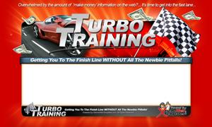 Thumbnail Turbo Training PSD Minisite HTML Graphics Ready Made Web Template
