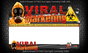 Thumbnail Viral Marketing PSD Minisite HTML Graphics Ready Made Web Template