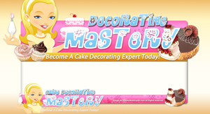 Thumbnail Cake Decoration PSD Minisite HTML Graphics Ready Made Web Template