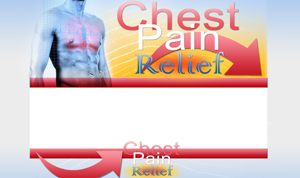 Thumbnail Chest Pain PSD Minisite HTML Graphics Ready Made Web Template