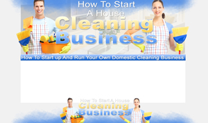 Thumbnail Cleaning Business PSD Minisite HTML Graphics Ready Made Web Template